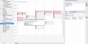 Zeitplanung Kalenderansicht